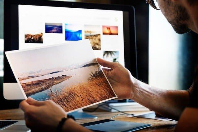Foto afdruk service fotolijst