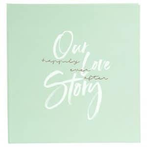 Trouwalbum Our Love Story Mint Goldbuch 08172