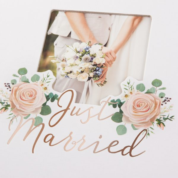 Trouwalbum Just Married Goldbuch 08188 C