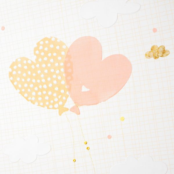 Trouwalbum Ballooning Hearts Goldbuch 08386 D