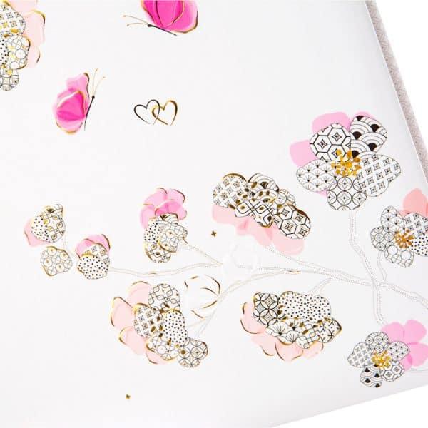 Trouwalbum Cherry Blossom Goldbuch 08387 D