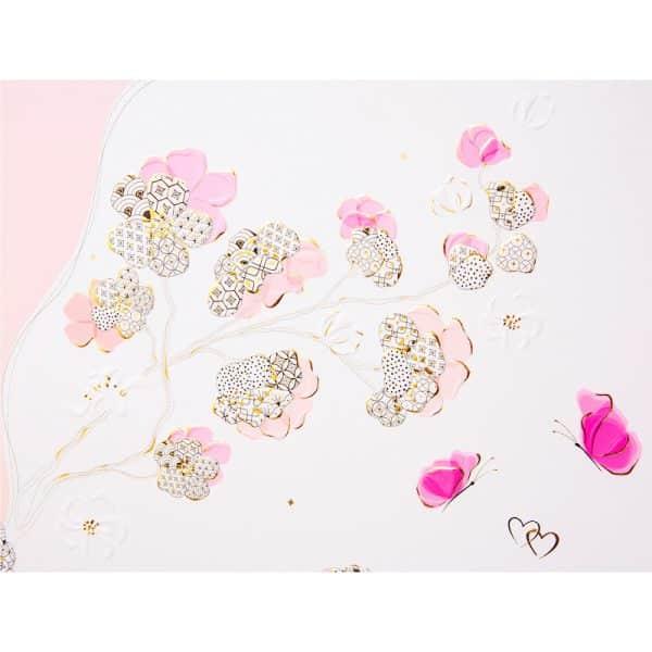 Trouwalbum Cherry Blossom Goldbuch 08387 E