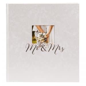 Trouwalbum Mr and Mrs Goldbuch 08388