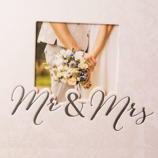 Trouwalbum Mr and Mrs Goldbuch 08388 D