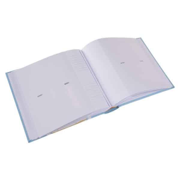 Insteekalbum Foruna blauw Goldbuch 17257 C