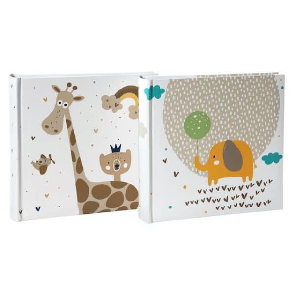 Insteekalbum Little Dreams Giraf en Olifant Goldbuch 17278
