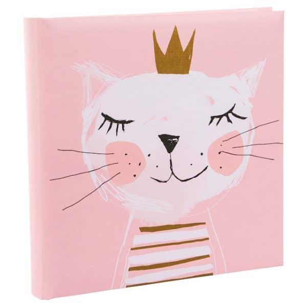 Baby fotoalbum Fortuna roze goldbuch_24258 A