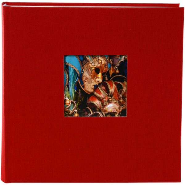 Insteekalbum Bella Vista rood goldbuch_17890