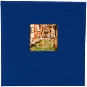 insteekalbum bella vista blauw goldbuch_17895