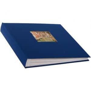 insteekalbum bella vista blauw goldbuch_17895_A